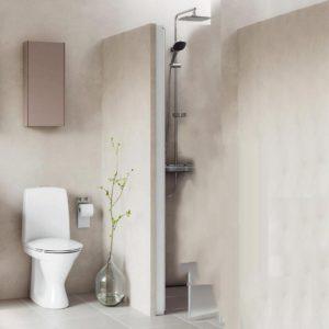 Pris på nyt badeværelse
